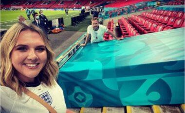 Anglia pranë triumfit historik, gruaja e Harry Kane i dërgon mesazh motivues bashkëshortit