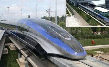 Kina prezanton trenin më të shpejtë në botë me shpejtësi maksimale 600 km/orë