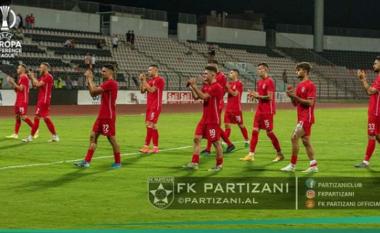 Baseli i madh për Partizanin, demat eliminohen nga Europa (VIDEO)