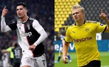 E bujshme nga La Repubblica: Haaland është pasardhësi i Ronaldos tek Juve
