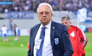 """""""E kanë mëndjen te rroga"""", presidenti i klubit rumun shpërthen ndaj lojtarëve pas humbjes ndaj Laçit"""