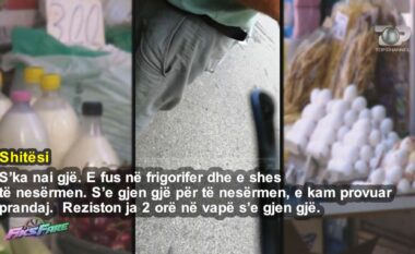 Bombë për konsumatorët, veza dhe qumështi në rrugë nën temperatura të larta