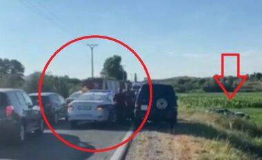 4 makina copë copë! 8 të plagosur nga aksidenti i frikshëm në Lezhë-Shkodër, mes tyre edhe fëmijë (VIDEO)
