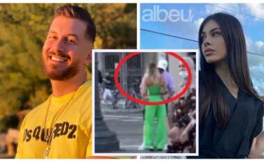 Nuk është me Aleksian, Romeo filmohet duke u puthur me një bjonde në Barcelonë (VIDEO)