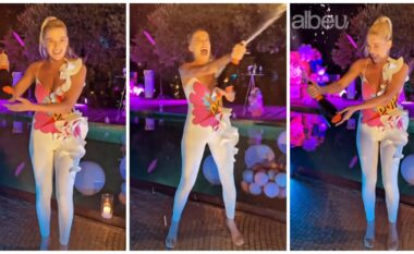 """S'do ta besoni sa vjeç mbushi, Arilena Ara organizon festën më të """"çmendur"""" të ditëlidjes (VIDEO)"""