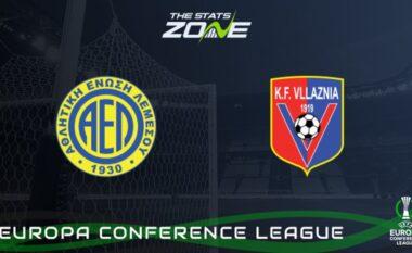 Formacionet zyrtare, AEL-Vllaznia (FOTO LAJM)