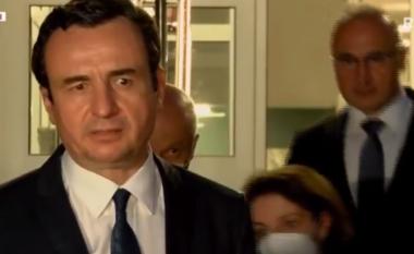 Kurti flet nga spitali ku po trajtohen të lënduarit: Bashkë do t'ia dalim (VIDEO)