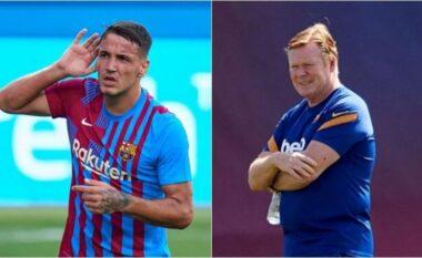 Manaj prish planet e merkatos të Barcelonës, golat e tij përplasin idetë e Koeman me të Laportas