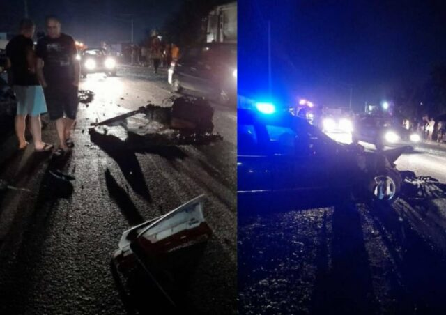 Aksident i rëndë në Fushë-Krujë, vdes drejtuesi i mjetit, plagosen 2 të tjerë FOTO LAJM)