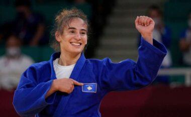 """Nora Gjakova e jashtëzakonshme, i siguron Kosovës medaljen e dytë të artë në """"Tokio 2020"""""""