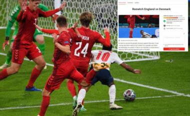 Tifozët përmes peticionit kërkojnë përsëritjen e ndeshjes Angli-Danimarkë (FOTO LAJM)