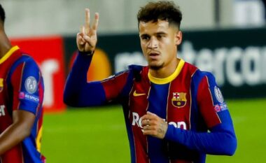 Coutinho prej kohësh jashtë planeve, Barcelona gati ta huazojë sërish