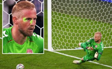 Laseri në fytyrën e Schmeichel para penalltisë, kjo është gjoba e vendosur nga UEFA për Anglinë