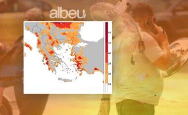 I nxehti afrikan, harta me zonat e kuqe në Shqipëri ku temperaturat do të jenë përvëluese
