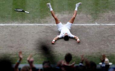 Wimbledon 2021: Novak Djokovic fiton titullin e 6, barazon Federer dhe Nadal (VIDEO+FOTO)