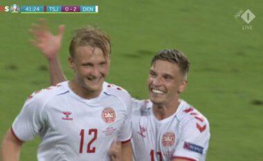 EURO 2020/ Fantastike Danimarka, dyfishon rezultatin ndaj Çekisë (VIDEO)