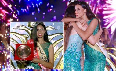 """Rrëmbeu kurorën e më të bukurës në Shqipëri, kjo është vajza që u shpall """"Miss Shqipëria 2021"""" (FOTO LAJM)"""
