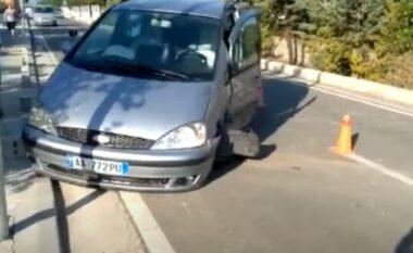Aksident mes dy makinave në Elbasan, disa persona të lënduar
