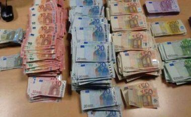 Sekuestrohen në Kapshticë mbi 17 mijë euro të padeklaruara