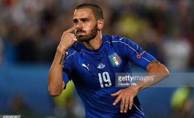 Bonucci vendos heshtjen në Wembley, Italia shtang Anglinë (VIDEO)