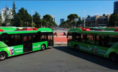 """Autobusët """"Go Green"""" në Tiranë, Rama jep lajmin: Në gusht nis linja e madhe unazore (VIDEO)"""