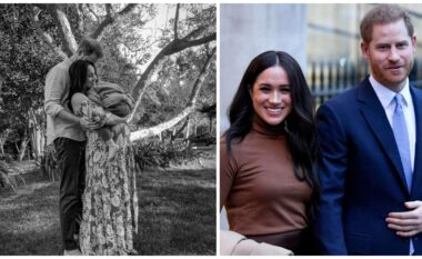 """Në 40-vjetorin e lindjes, Meghan Markle publikoi """"padashje"""" foton e parë të vajzës (FOTO LAJM)"""