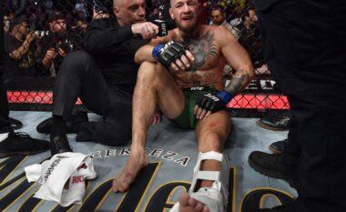 McGregor pëson dëmtim horror ndaj Porier, detyrohet të dorëzojë ndeshjen (FOTO+VIDEO)