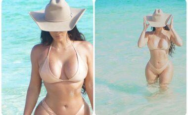 """""""Përsëri në ishullin tim të preferuar"""", Kim Kardashian provokon me bikini (FOTO LAJM)"""