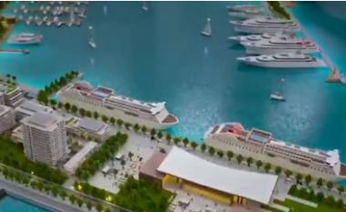 Jahte e palma, Rama nxjerr maketin për portin e Durrësit: Më i bukuri në mesdhe (VIDEO)