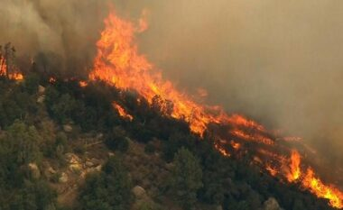 """Tempereturat po """"thyejnë"""" termometrin, IGJEUM: 10 qarqet të rrezikuara nga zjarret (FOTO LAJM)"""