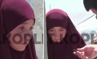 Dëshiron të luaj sërish me dy shoqet që ka në Tiranë, flet mes lotësh vogëlushja shqiptare në kampin e ISIS