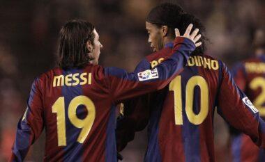 Propozimi i çuditshëm i Ronaldinjos kur Messi të mbyll karrierën