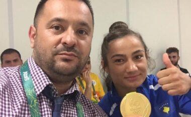 """Eleminohet në ndeshjen e parë në """"Tokyo 2020"""", trajneri i Majlinda Kelmendit prek me mesazhin emocionues"""