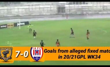Skandal: Ndeshja e trukuar, por lojtari shënon dy gola me vullnet për të prishur bastet (FOTO+VIDEO)