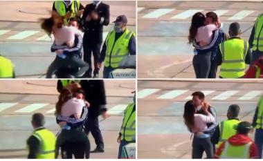 Emocionuese: Shikoni si e pret Antonella Messin pas triumfit në Copa America (VIDEO)