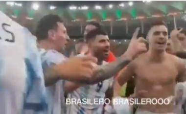 Ngacmoi Brazilin, Messi ndalon shokun e ekipit pas fitores në Copa America (VIDEO)