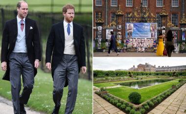 Zbulimi i statujës së princeshë Dianës bën bashkë Williamin dhe Harryn