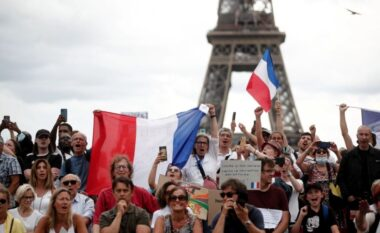 Masave anti-Covid: Nisin protestat në Francë