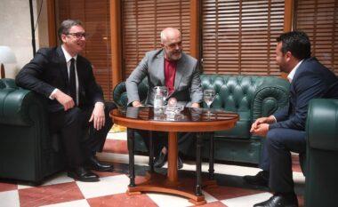 Vuçiç reagon pas takimit me Ramën dhe Zaev:  Minishengen një hap drejt së ardhmes