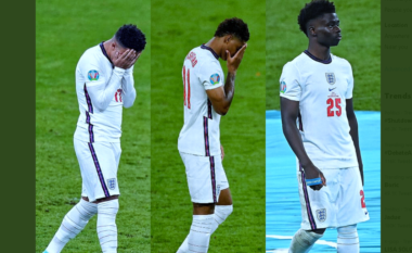 """Hëmbën penalltitë në finale, kërcënohet tre yjet e Anglisë: Reagon Federata e """"Tre Luanëve"""""""