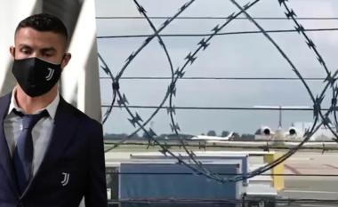CR7 mbërrin në Torino me avion privat, gati për Allegrin (VIDEO)