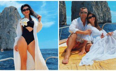 Festoi ditëlindjen në Capri, sa i kushtoi veshja luksoze Rudina Dembacajt (FOTO LAJM)