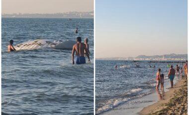 Qerret, parashutisti bie në det duke rrezikuar mbytjen