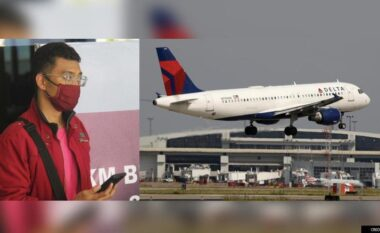 U testua pozitiv me COVID-19, indoneziani maskohet si gruaja e tij për të mos humbur fluturimin