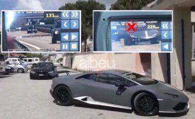"""""""Lamborghini"""" dhe """"BMW"""" gara me shpejtësi 225 km/h në Fier-Vlorë, si e pësojnë dy shoferët nga Kosova (VIDEO)"""