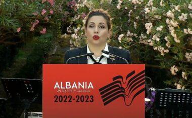 Këshilli i Sigurimit, Xhaçka: Shqipëria sot ka çfarë t'i tregojë botës
