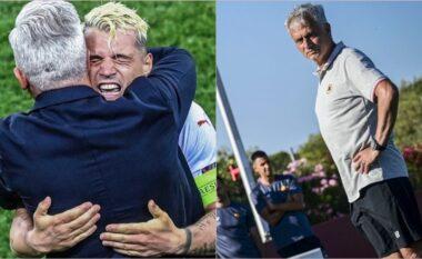Reagimi i Mourinhos në postimin e Xhakës, tërheq vëmendjen e mediave (FOTO LAJM)