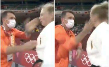 U godit me shuplakë nga trajneri, reagon xhudistja gjermane (VIDEO)