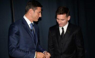 Messi apo Maradona? Zanetti vihet në vështirësi për të zgjedhur