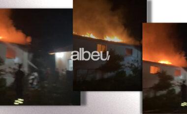 Shkrumbohet banesa 2 katëshe në Milot, shpëtojnë 7 anëtarët e familjes (VIDEO)